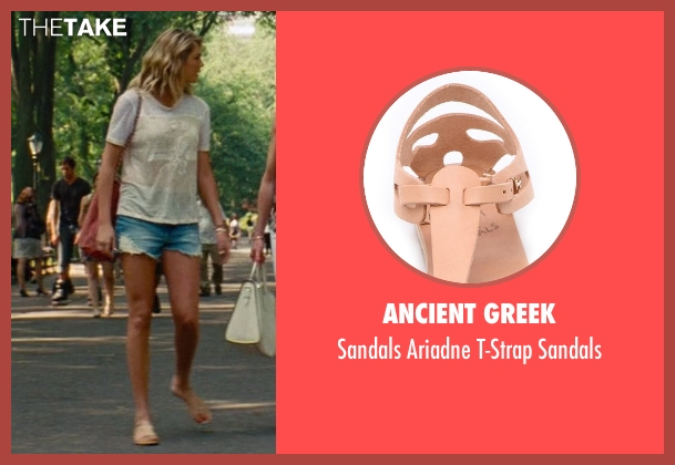 Ancient Greek beige sandals from The Other Woman seen with Kate Upton (Amber)