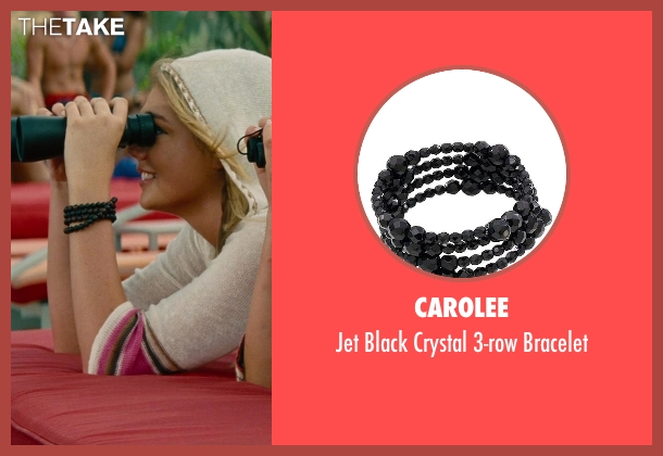 Carolee black bracelet from The Other Woman seen with Kate Upton (Amber)