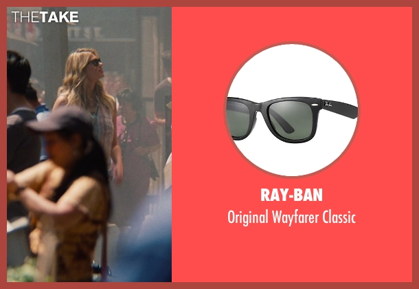 Ray-Ban black classic from The Other Woman seen with Kate Upton (Amber)