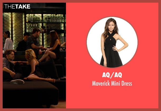 AQ/AQ black dress from The Other Woman seen with Kate Upton (Amber)