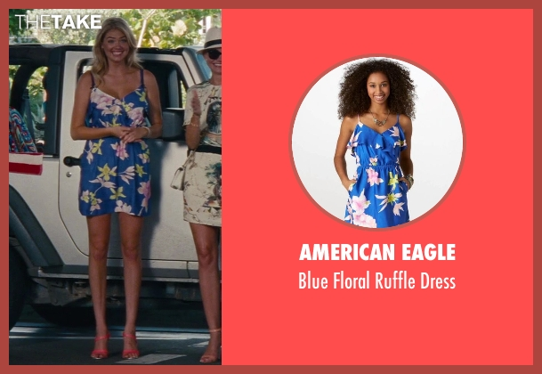 American Eagle blue dress from The Other Woman seen with Kate Upton (Amber)