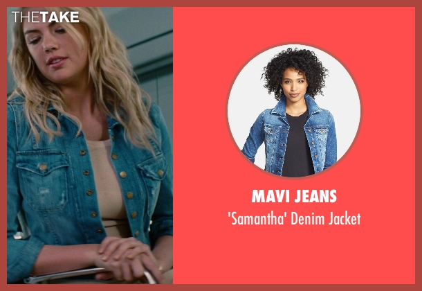 Mavi Jeans blue jacket from The Other Woman seen with Kate Upton (Amber)