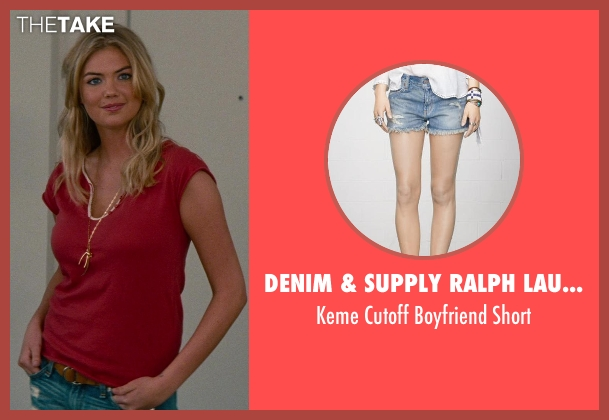 Denim & Supply Ralph Lauren blue short from The Other Woman seen with Kate Upton (Amber)