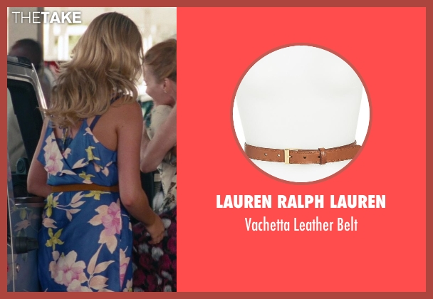 Lauren Ralph Lauren brown belt from The Other Woman seen with Kate Upton (Amber)