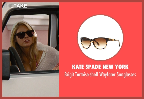 Kate Spade New York	 brown sunglasses from The Other Woman seen with Kate Upton (Amber)