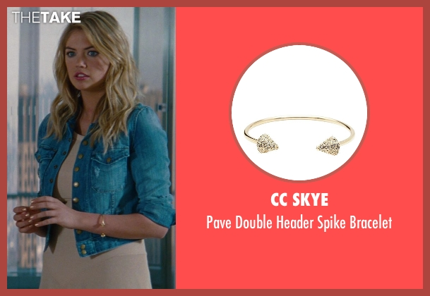 CC Skye gold bracelet from The Other Woman seen with Kate Upton (Amber)