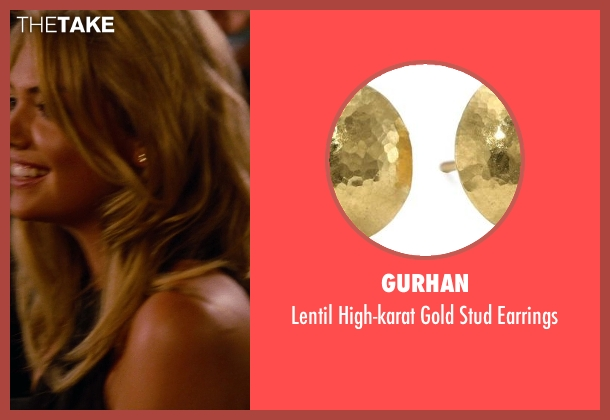 Gurhan gold earrings from The Other Woman seen with Kate Upton (Amber)