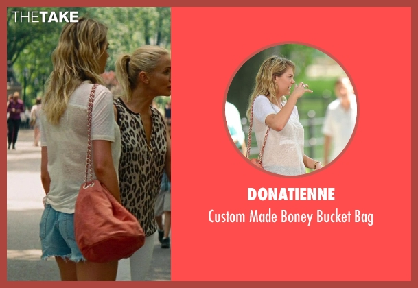 Donatienne pink bag from The Other Woman seen with Kate Upton (Amber)
