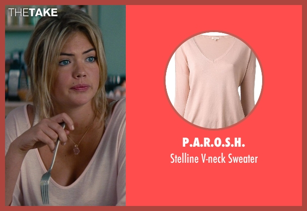 P.A.R.O.S.H. pink sweater from The Other Woman seen with Kate Upton (Amber)