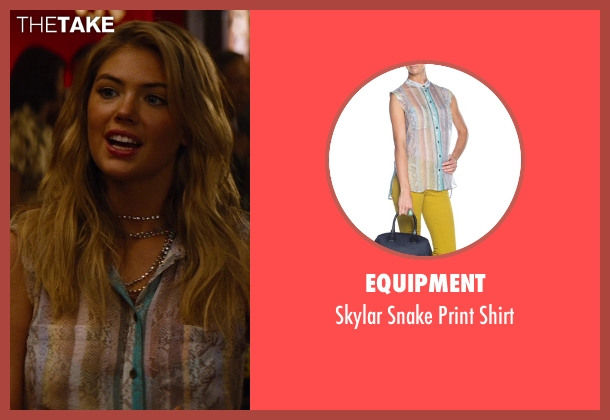 Equipment shirt from The Other Woman seen with Kate Upton (Amber)