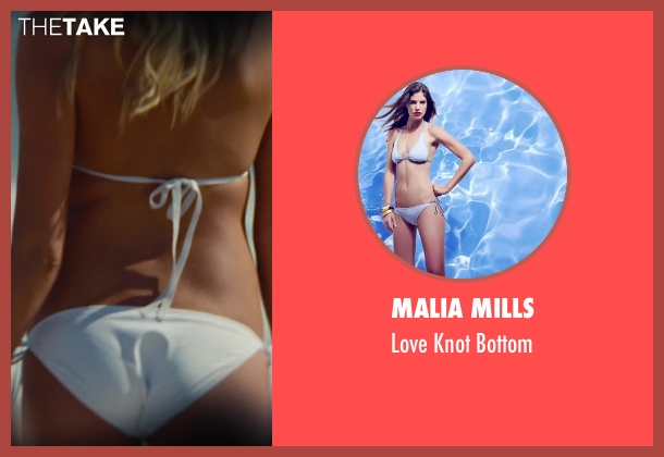 Malia Mills white bottom from The Other Woman seen with Kate Upton (Amber)