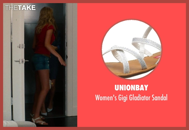 Unionbay white sandal from The Other Woman seen with Kate Upton (Amber)