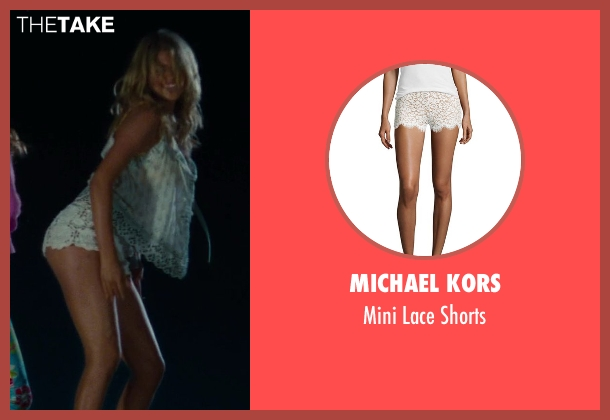 Michael Kors	 white shorts from The Other Woman seen with Kate Upton (Amber)
