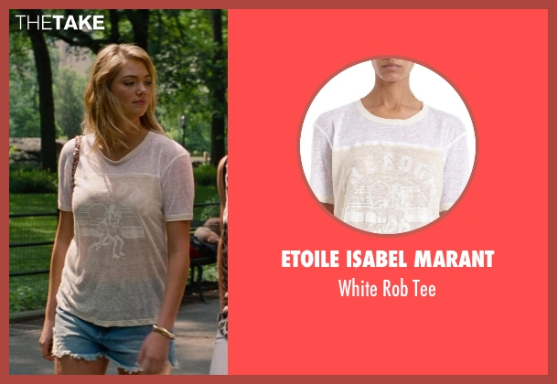 Etoile Isabel Marant white tee from The Other Woman seen with Kate Upton (Amber)