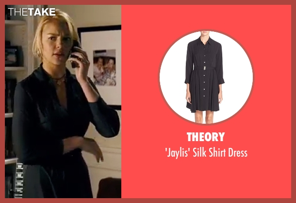 Theory black dress from Knocked Up seen with Katherine Heigl (Alison Scott)