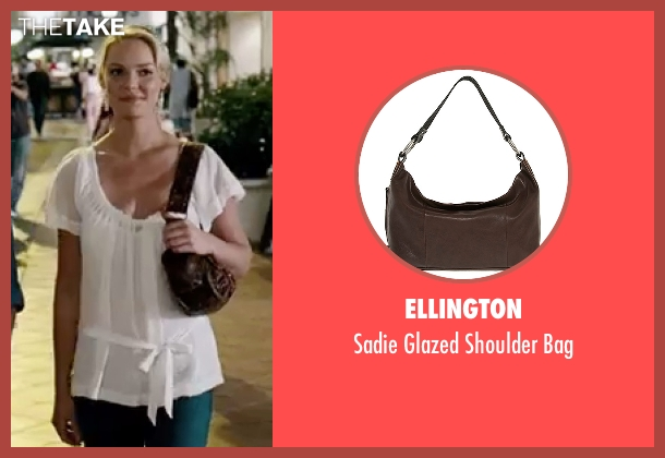 Ellington brown bag from Knocked Up seen with Katherine Heigl (Alison Scott)