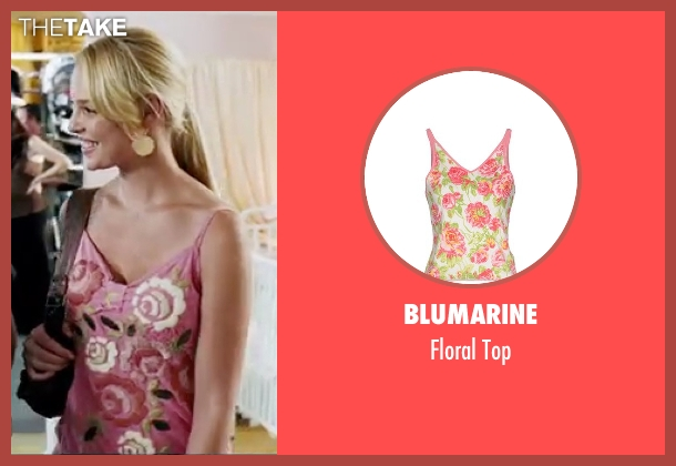 Blumarine pink top from Knocked Up seen with Katherine Heigl (Alison Scott)