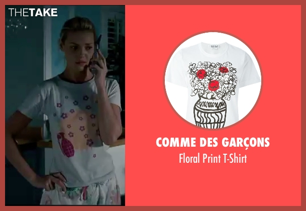 Comme Des Garçons white t-shirt from Knocked Up seen with Katherine Heigl (Alison Scott)