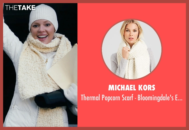 Michael Kors beige exclusive from New Year's Eve seen with Katherine Heigl (Laura)