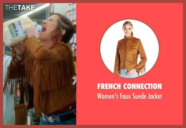 French Connection brown jacket from Bad Moms seen with Kathryn Hahn (Carla)