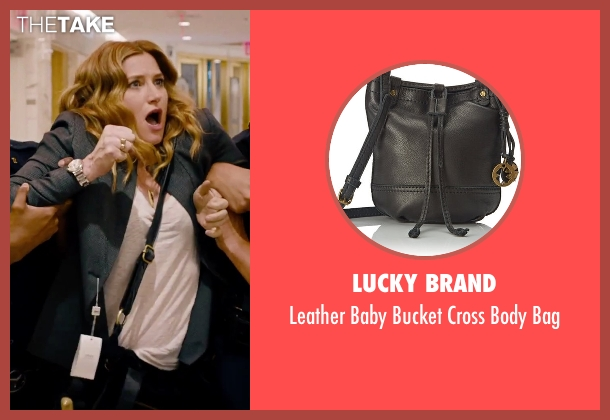 Lucky Brand black bag from She's Funny That Way seen with Kathryn Hahn (Delta Simmons)