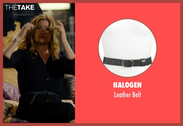 Halogen black belt from She's Funny That Way seen with Kathryn Hahn (Delta Simmons)