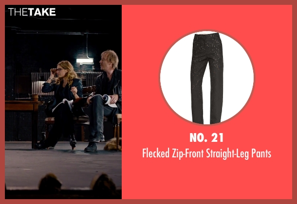 No. 21 black pants from She's Funny That Way seen with Kathryn Hahn (Delta Simmons)