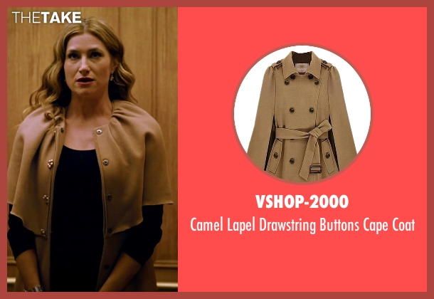 Vshop-2000 coat from She's Funny That Way seen with Kathryn Hahn (Delta Simmons)