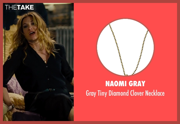 Naomi Gray gold necklace from She's Funny That Way seen with Kathryn Hahn (Delta Simmons)