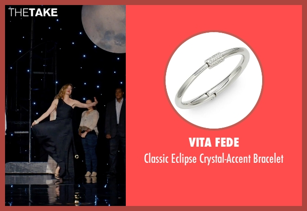 Vita Fede silver bracelet from She's Funny That Way seen with Kathryn Hahn (Delta Simmons)