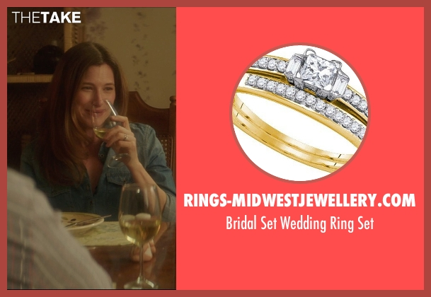 Rings-Midwestjewellery.com gold set from The D Train seen with Kathryn Hahn (Stacey)