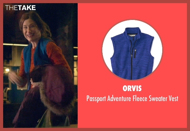 Orvis blue vest from The Visit seen with Kathryn Hahn (Unknown Character)