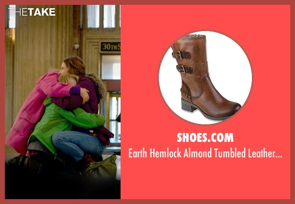 Shoes.com brown boots from The Visit seen with Kathryn Hahn (Unknown Character)