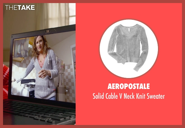 Aeropostale gray sweater from The Visit seen with Kathryn Hahn (Unknown Character)