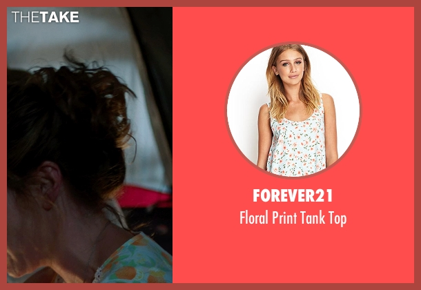Forever21 white top from We're the Millers seen with Kathryn Hahn (Edie Fitzgerald)