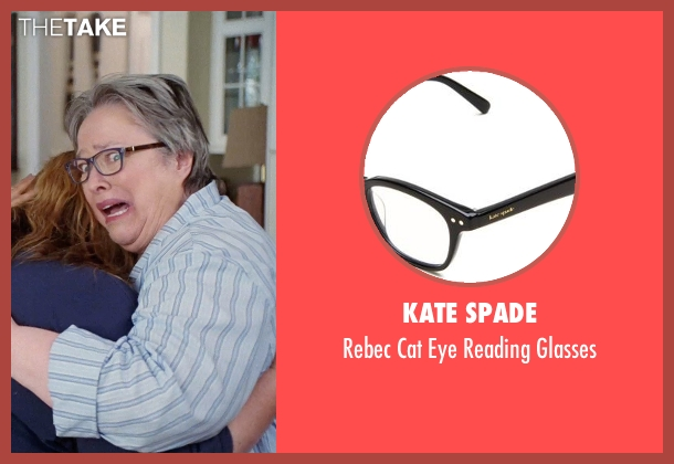 Kate Spade black glasses from Tammy seen with Kathy Bates (Leanor)