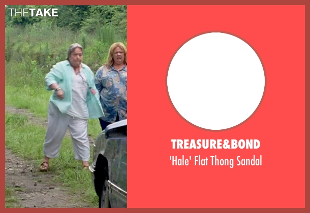 Treasure&bond brown sandal from Tammy seen with Kathy Bates (Leanor)