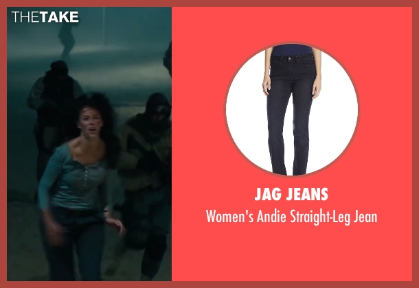 Jag Jeans black jean from Maze Runner: The Scorch Trials seen with Kaya Scodelario (Teresa)