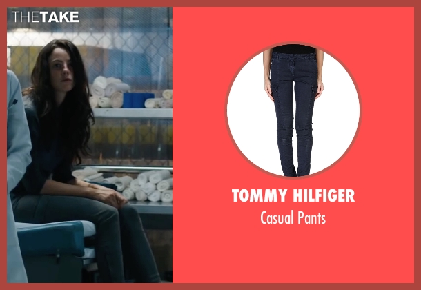 Tommy Hilfiger blue pants from Maze Runner: The Scorch Trials seen with Kaya Scodelario (Teresa)
