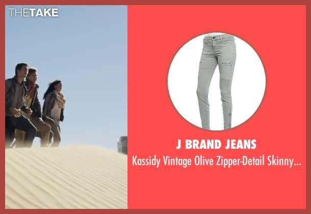 J Brand Jeans gray jeans from Maze Runner: The Scorch Trials seen with Kaya Scodelario (Teresa)