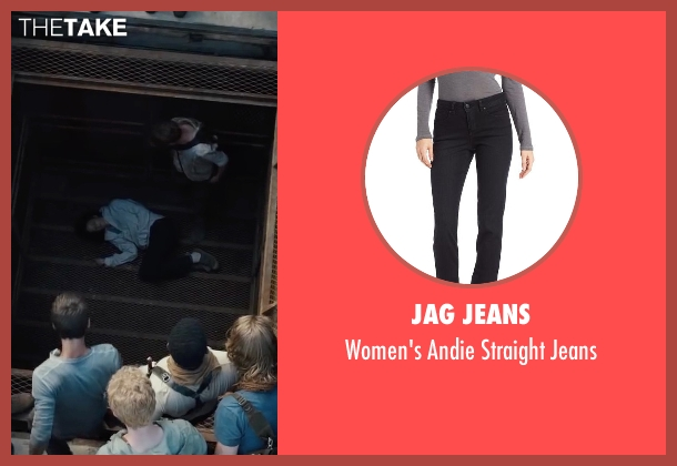 Jag Jeans black jeans from The Maze Runner seen with Kaya Scodelario (Teresa)