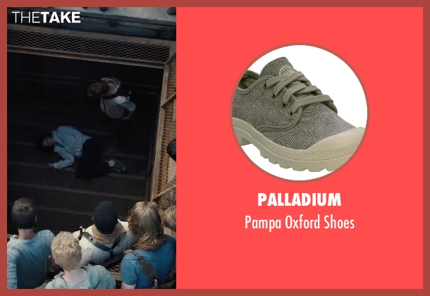 Palladium gray shoes from The Maze Runner seen with Kaya Scodelario (Teresa)