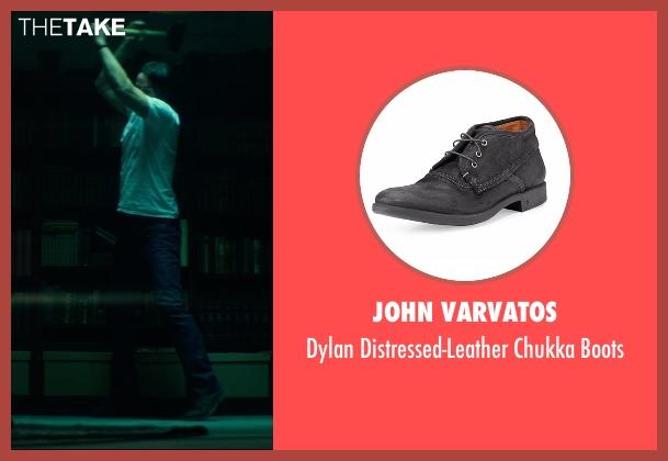 John Varvatos black boots from John Wick seen with Keanu Reeves (John Wick)