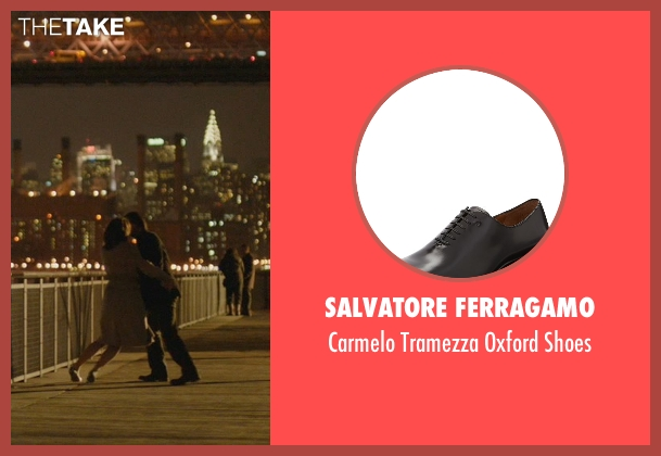 Salvatore Ferragamo black shoes from John Wick seen with Keanu Reeves (John Wick)