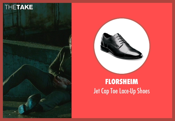 Florsheim  black shoes from John Wick seen with No Actor (John Wick)