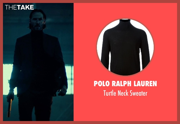 Polo Ralph Lauren black sweater from John Wick seen with No Actor (John Wick)