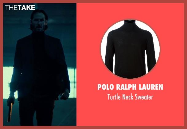 Polo Ralph Lauren black sweater from John Wick seen with No Actor (John Wick)