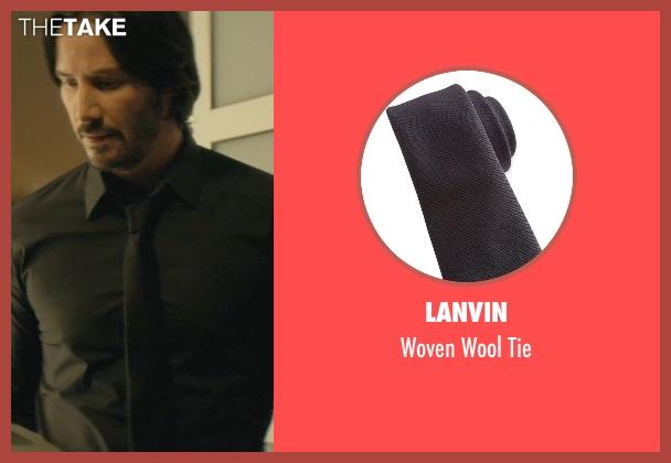 Lanvin black tie from John Wick seen with No Actor (John Wick)