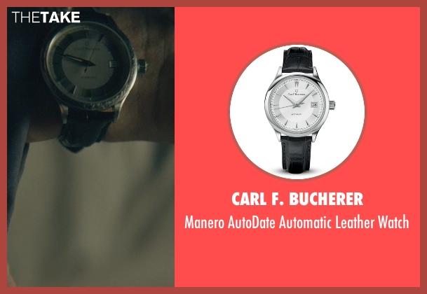 Carl F. Bucherer black watch from John Wick seen with Keanu Reeves (John Wick)