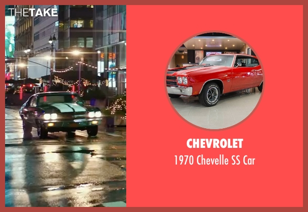 Chevrolet coupe from John Wick: Chapter 2 seen with Keanu Reeves (John Wick)